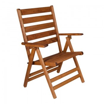 Folding armachair with high back