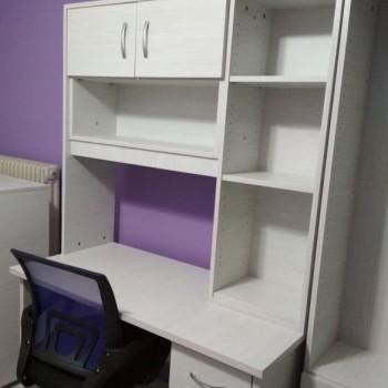 Adolelecent's / student's bookcase/desk