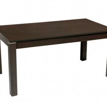 Table with vitrine