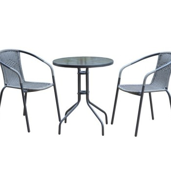Palstic set 1 table 4 armachairs