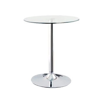 Crystal table for corner