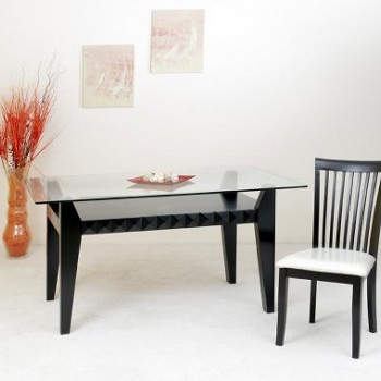 Crystal dinning table