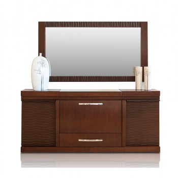 Buffet with mirror