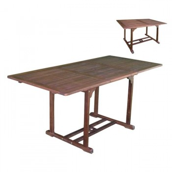 Outdoor table extensionable