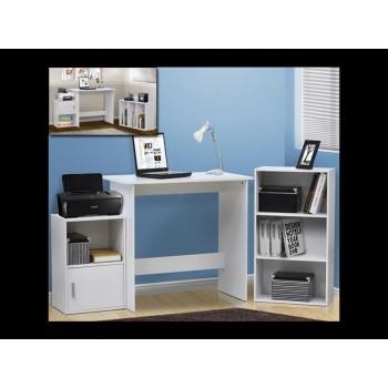 Bookcase and desk set