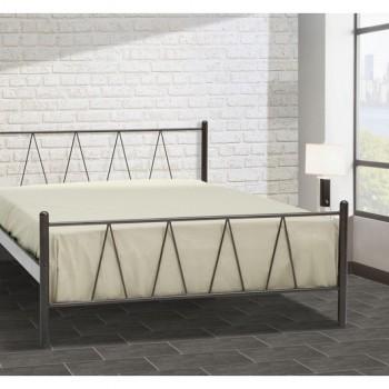 Double metal bed