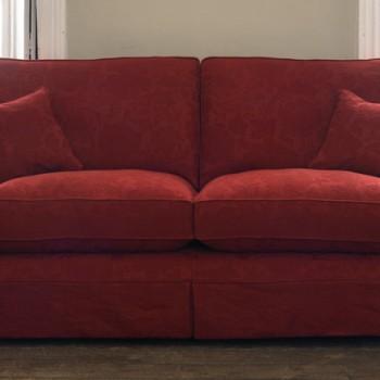 2seat fabric sofa