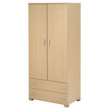 2 doors wardrobe 90 cm