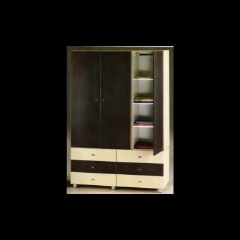 3door wardrobe 135 cm