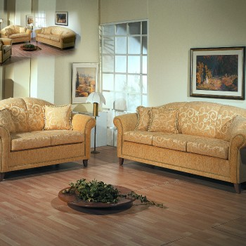 Chic newclassic sofa set
